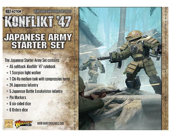 Japanese Starter Army for Konflikt '47