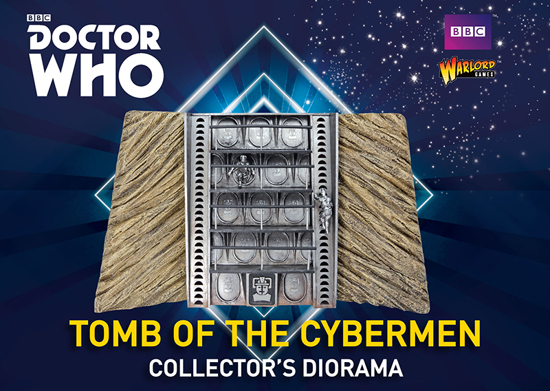 New Doctor Who Tomb of the Cybermen Collectors Diorama