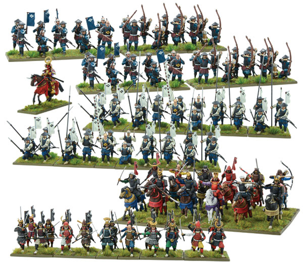 New Pike & Shotte Samurai Starter Army