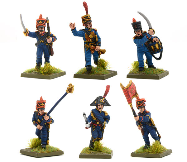 New Black Powder Napoleonic French Marines of the Guard Command