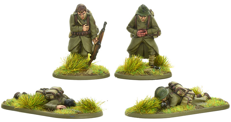 New Bolt Action French Casualties