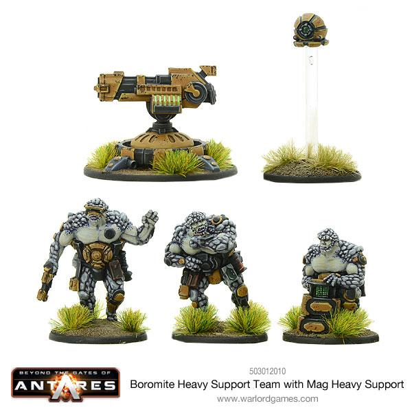 Boromite Heavy Support team with Mag Heavy Support