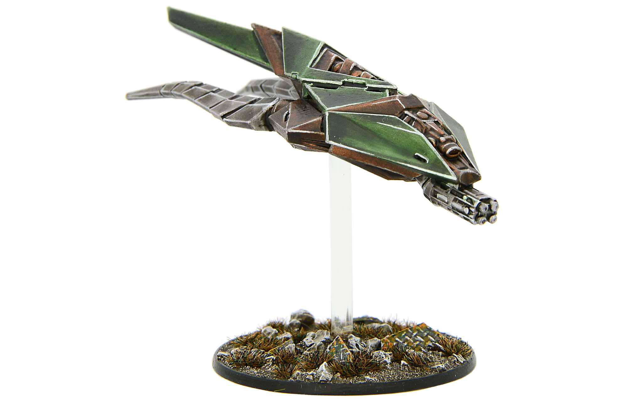 New Beyond the Gates of Antares Virai Weapon Drone with Flamer Array