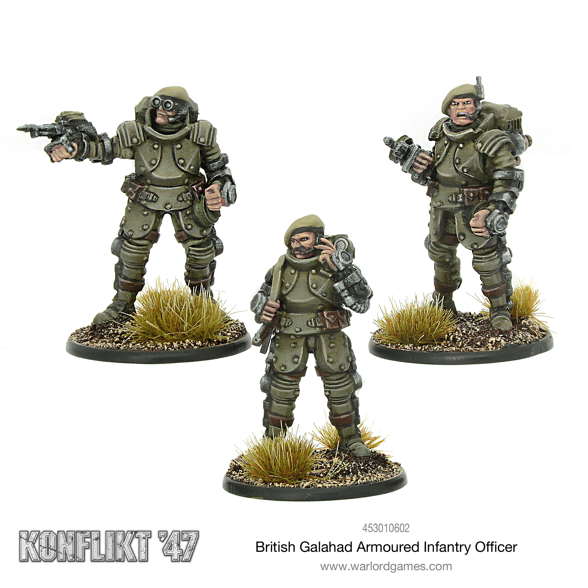 British Galahad Armoured Infantry Officer