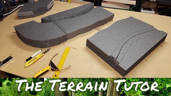 Terrain Tutor Lets Make - Modular Trenches (Pt1 - Basic Construction)