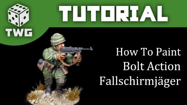 How to paint Fallschmirjager
