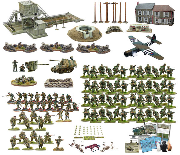 New Bolt Action Pegasus Bridge Ham and Jam Collectors set Second Edition contents
