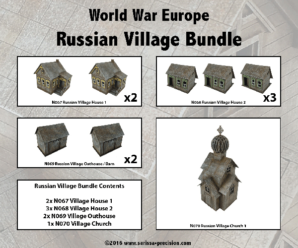 Sarissa Precision Russian Village Bundle
