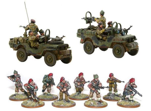 New Bolt Action British SAS Bundle