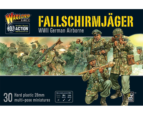 Bolt Action German Fallschirmjager Box