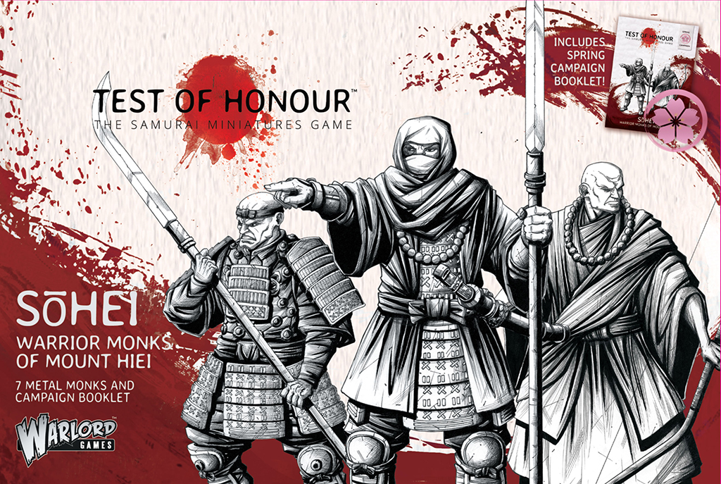 Pre-order Test of Honour Sohei Warrior Monks of Mount Hiei Box Set