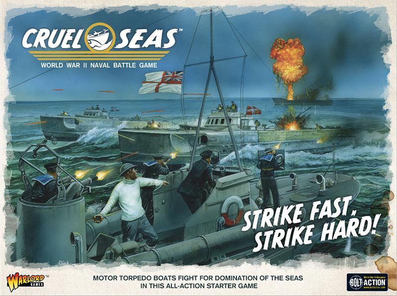 Pre-order Cruel Seas Starter Set Strike Fast, Strike Hard