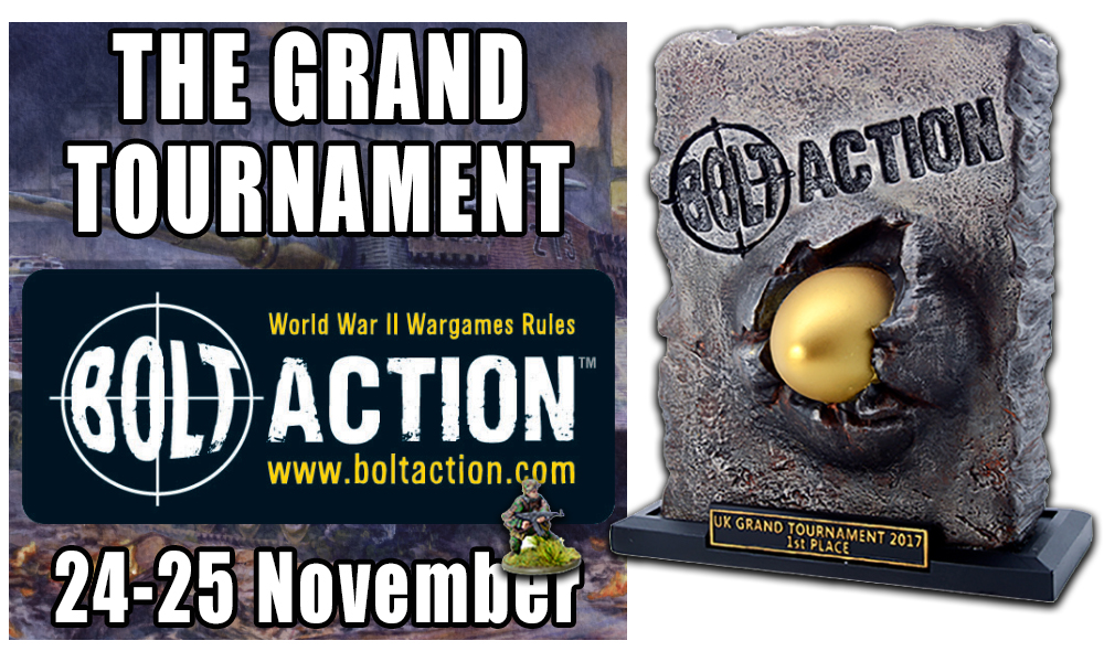 Bolt Action Grand Tournament ticket