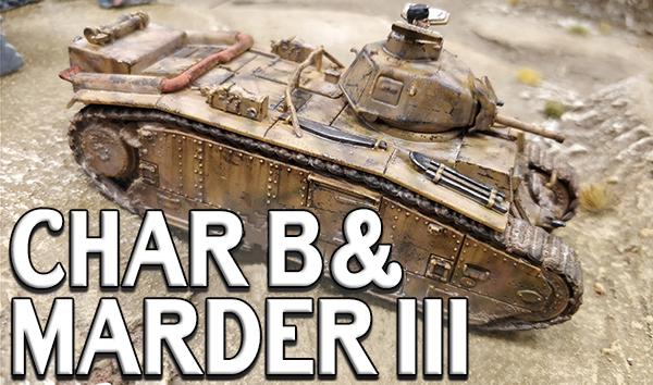 Char B & Marder III