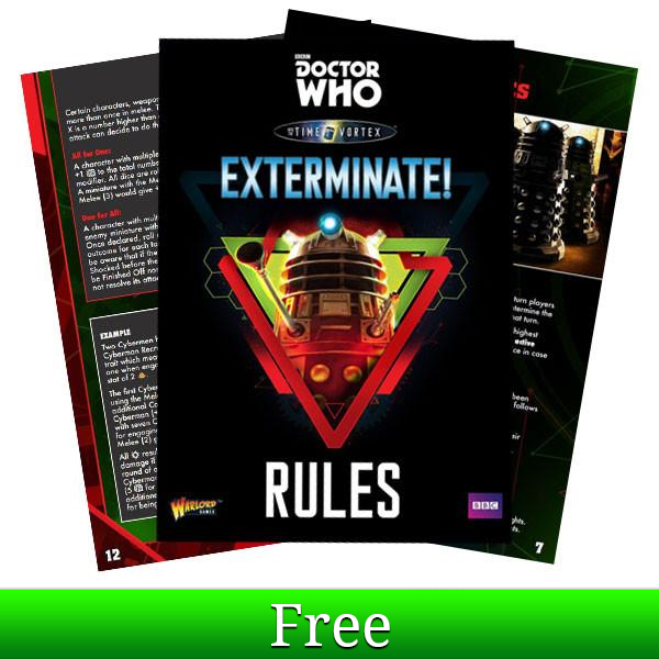 Doctor Who EXTERMINATE! Rules PDF Download