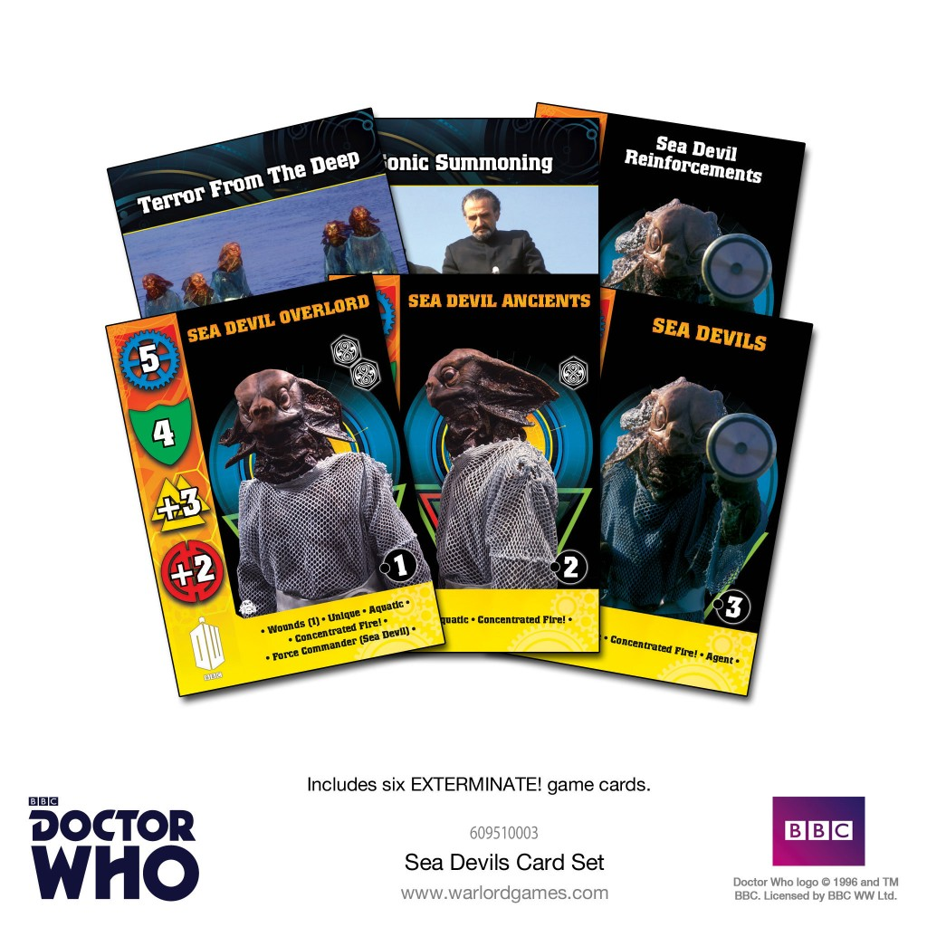 Sea Devils Card Set
