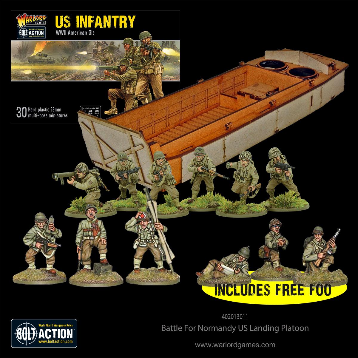 Battle for Normandy - US Beach Landing Platoon