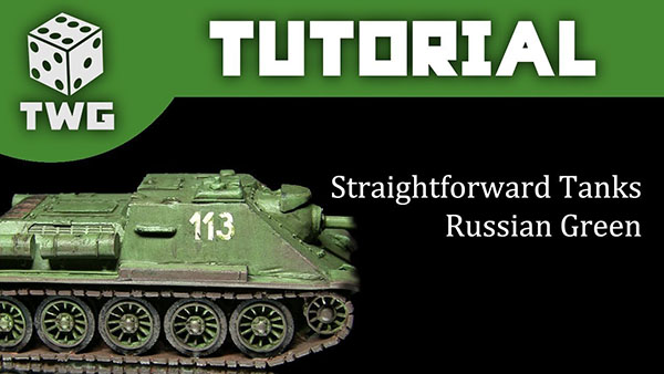 Thumbnail of Video of Simple Tank Painting Techniques