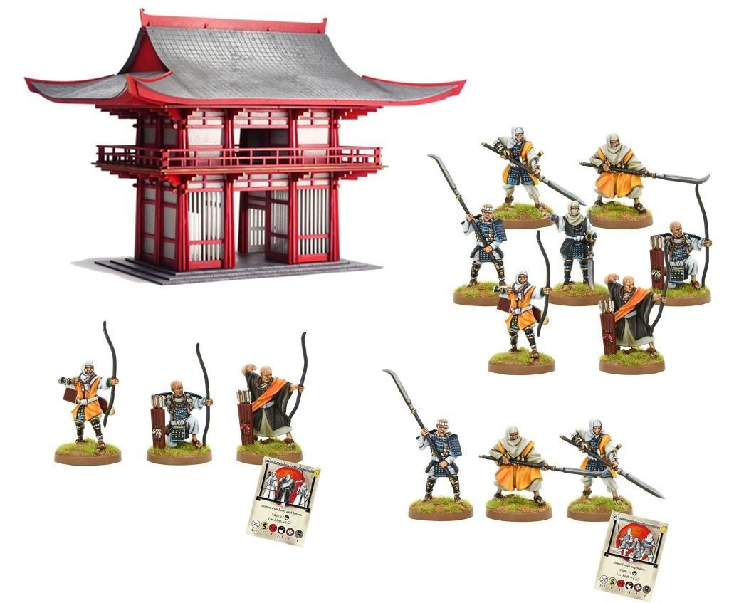 Pre-order Sohei Temple Defence Bundle