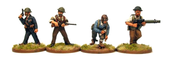New Bolt Action Opertation Sea Lion Footsore Miniatures Militia Characters
