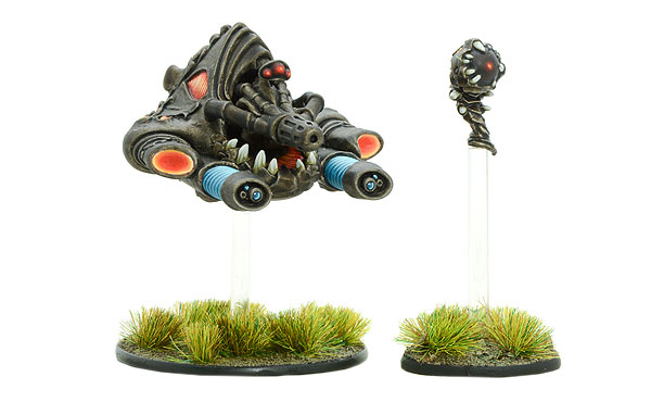 Models of Gates of Antares Isorian Andhak with Compression Cannon