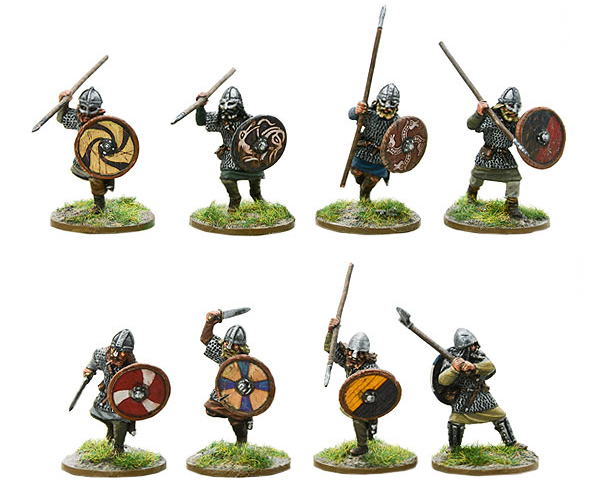 Models of Hail Caesar Viking Hirdmen B