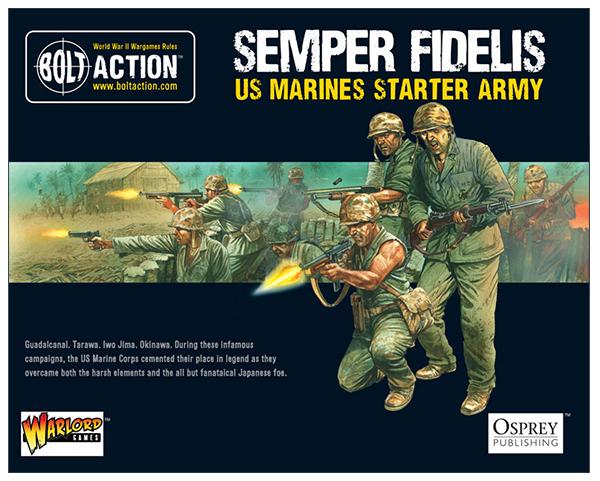 USMC Bolt Action army starter