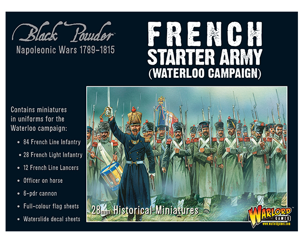 French Starter Army for Waterloo