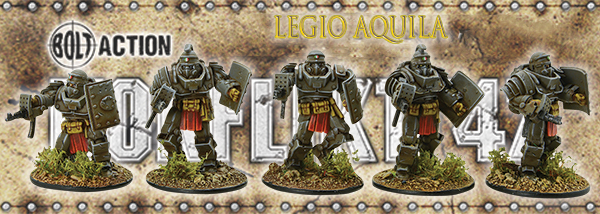 Legio Aquila, Italians for Konflikt'47 coming 2018