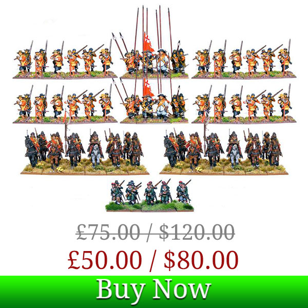 Pike and Shotte Battalia Starter Army Box Deal