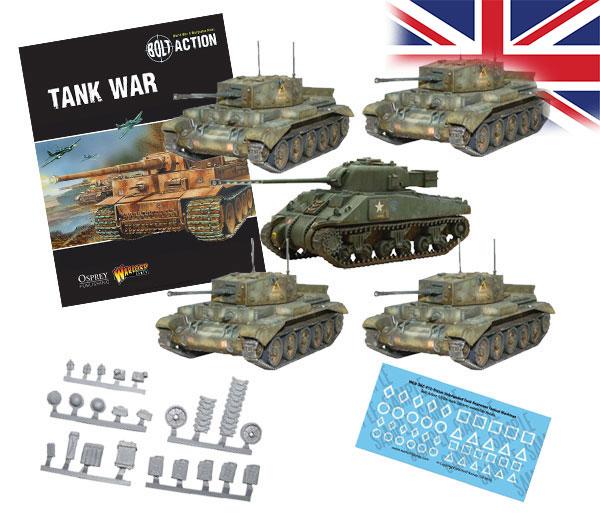 Bundle of Bolt Action British Tanks