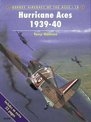 New Osprey Publishing Hurricane Aces 1939-1940