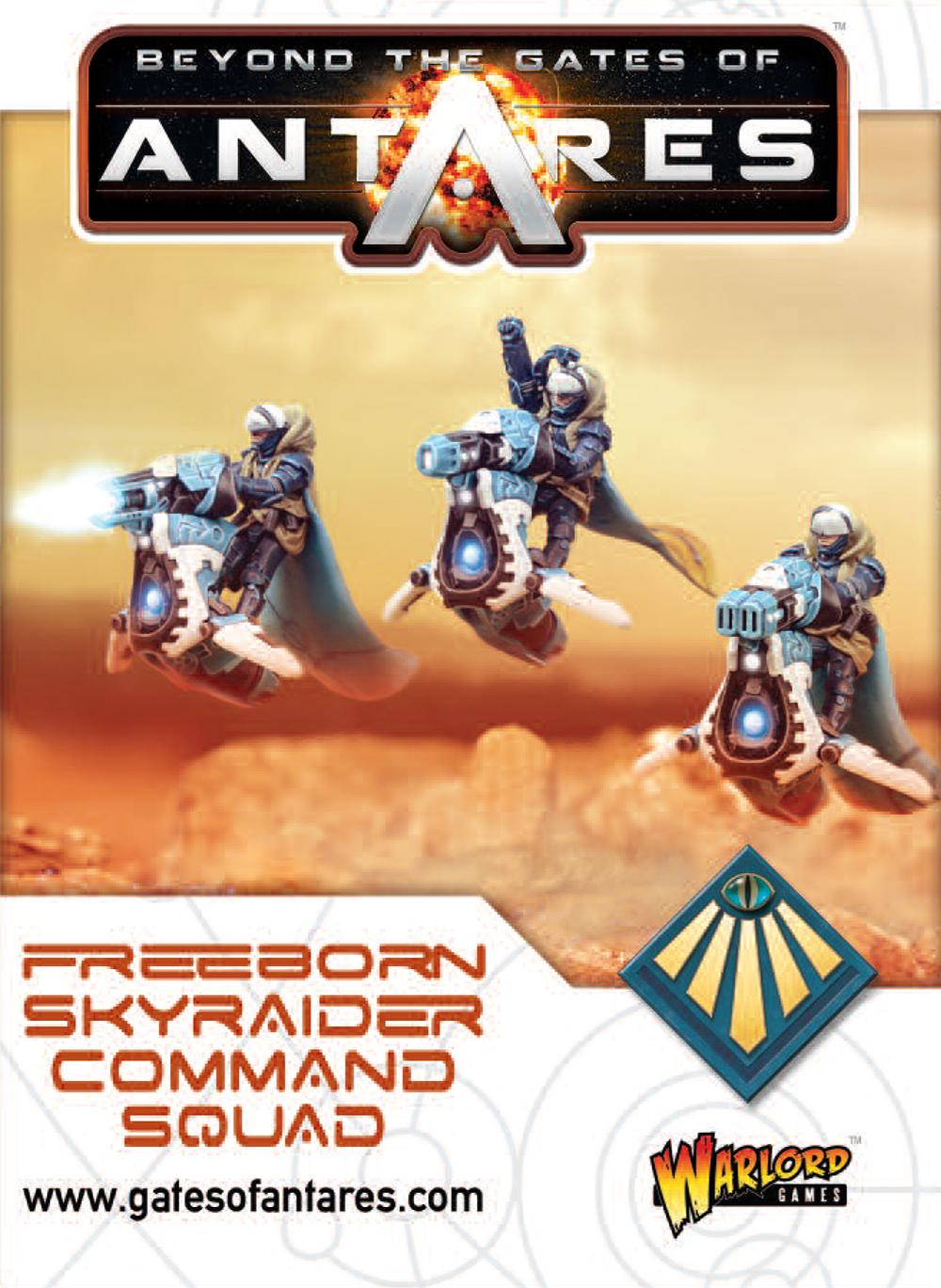New Gates of Antares Freeborn Sky Raiders Command Squad