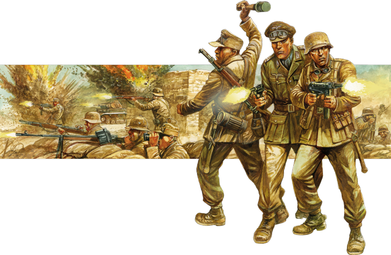 Bolt Action German DAK Collection Banner