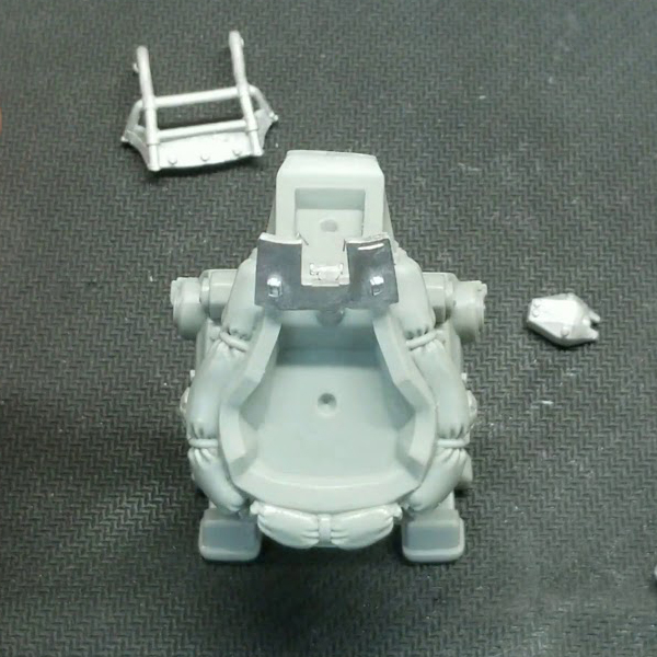 Konflikt '47 USMC Pondskater Scout Walker Let's Build YouTube episode