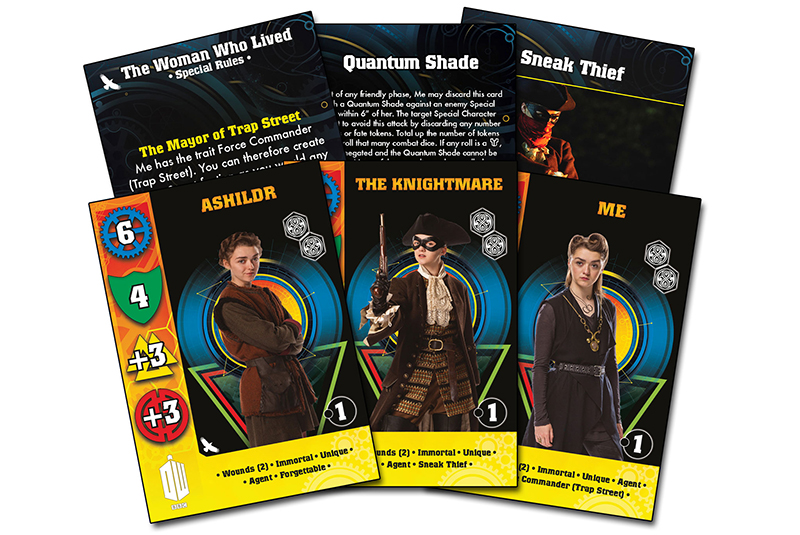 New Doctor Who The Woman Who Lived Card Set