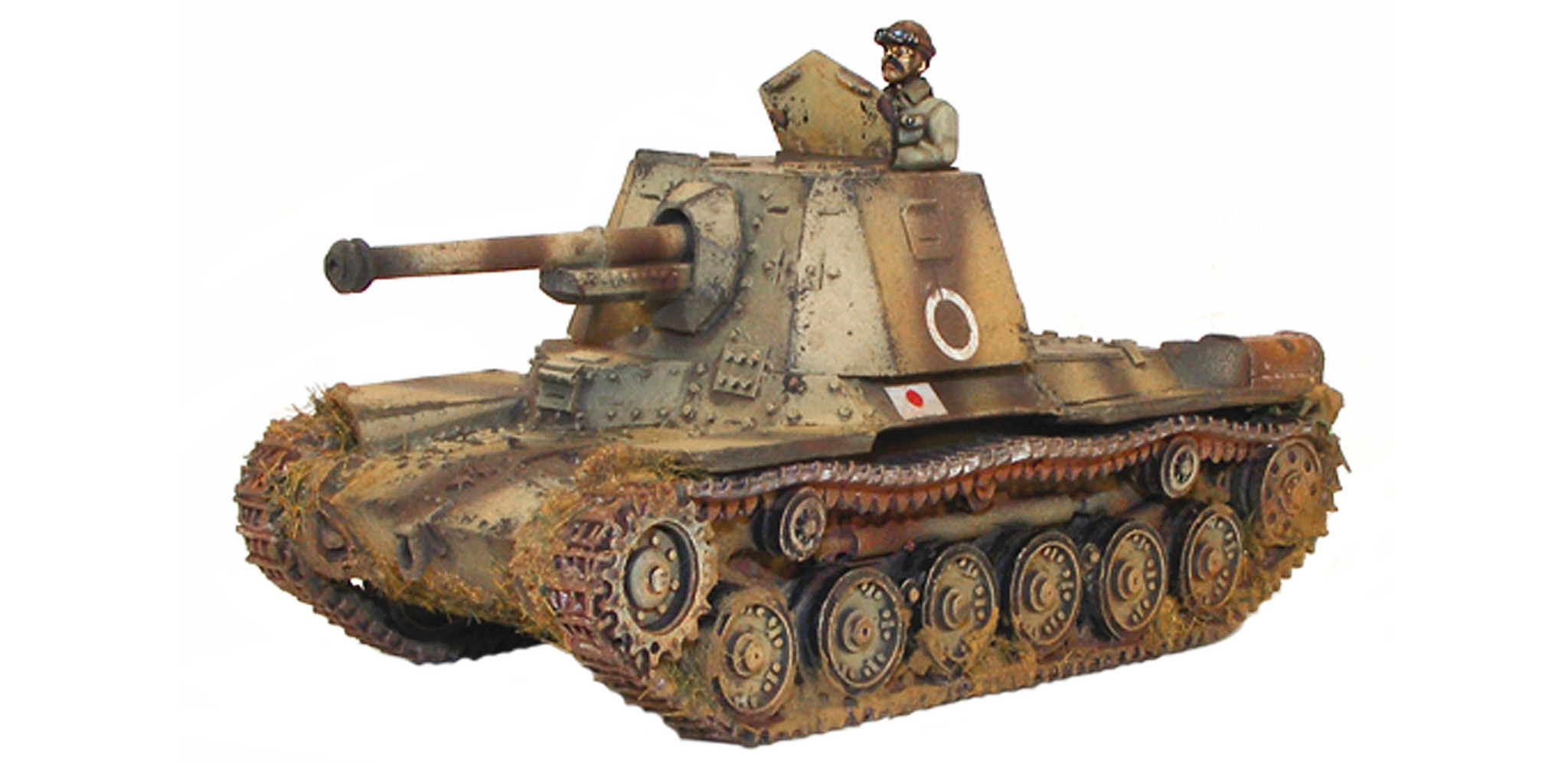 New Bolt Action Imperial Japanese Type 3 Ho-Ni Tank Destroyer