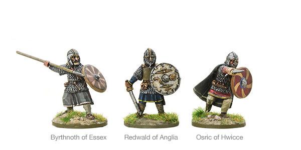 New Hail Caesar SAGA Saxon Warlords