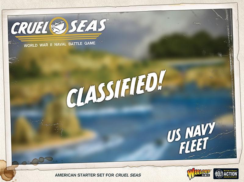Pre-order Cruel Seas US Navy Fleet Box