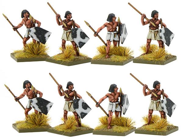New Hail Caesar Early Egyptian Javelinmen