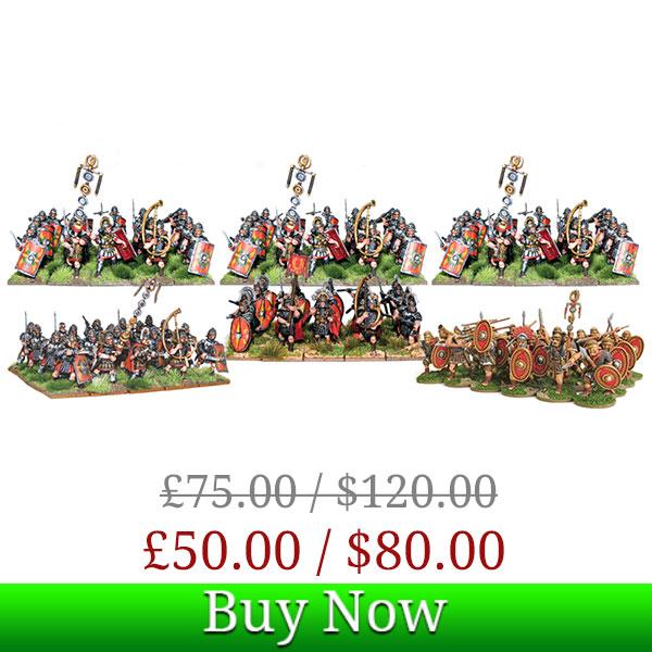 Hail Caesar Imperial Roman Starter Box Deal