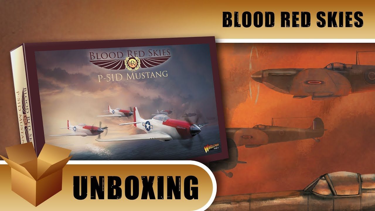 Beasts of War YouTube Blood Red Skies Allies Unboxing Video
