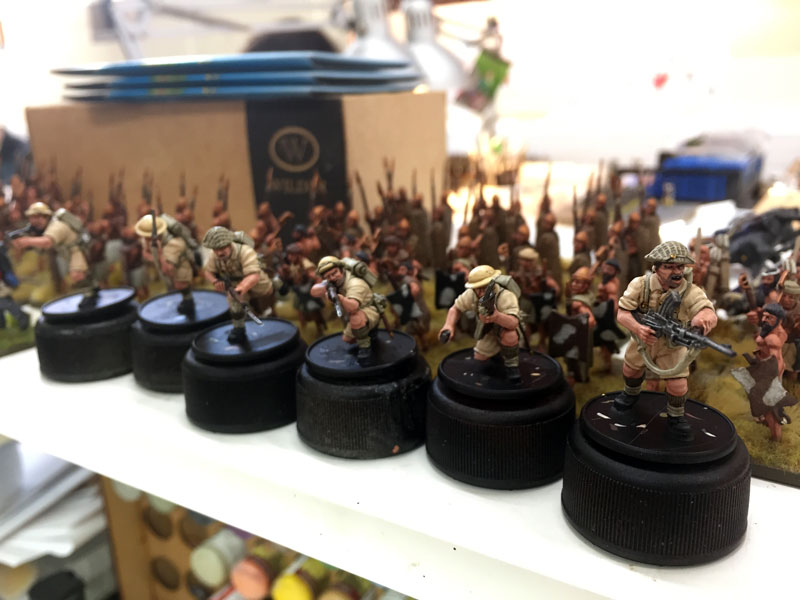 Coming soon...British plastic 8th Army