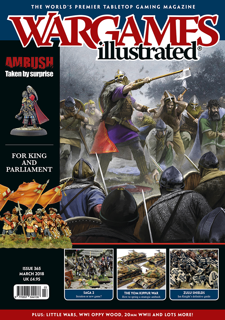New Wargames Illustrated WI365 March Edition