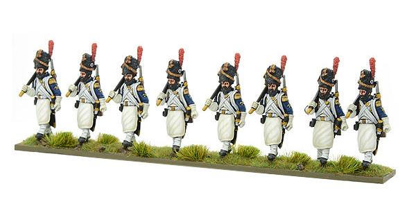 New Black Powder Napoleonic French Imperial Guard Regiment Sappers