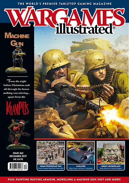 New Wargames Illustrated WI362 December Edition