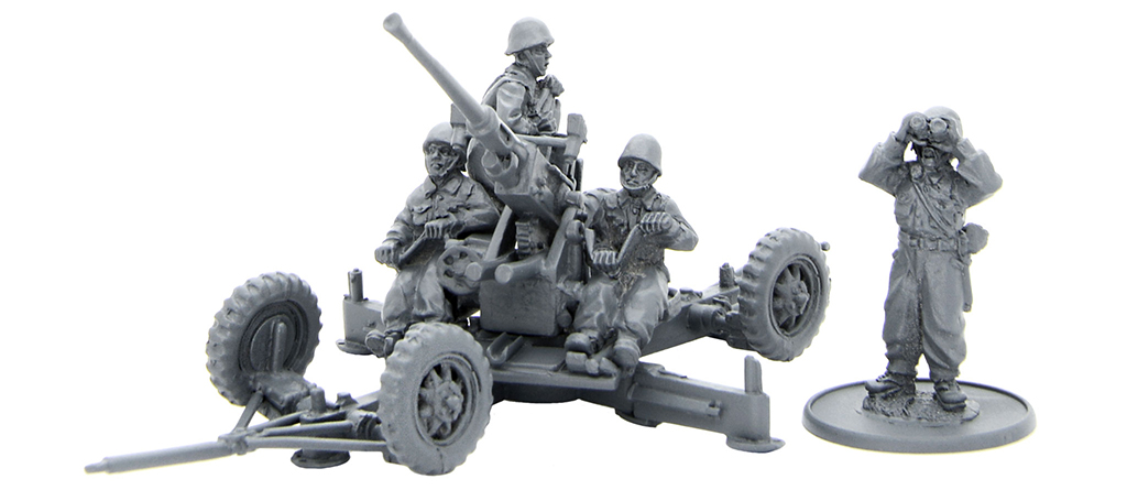 New Bolt Action Polish Bofors AA Gun