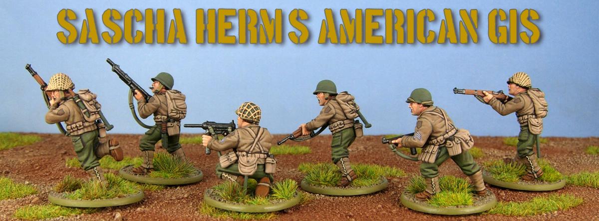 Step By Step: American GIs by Sacha Herm