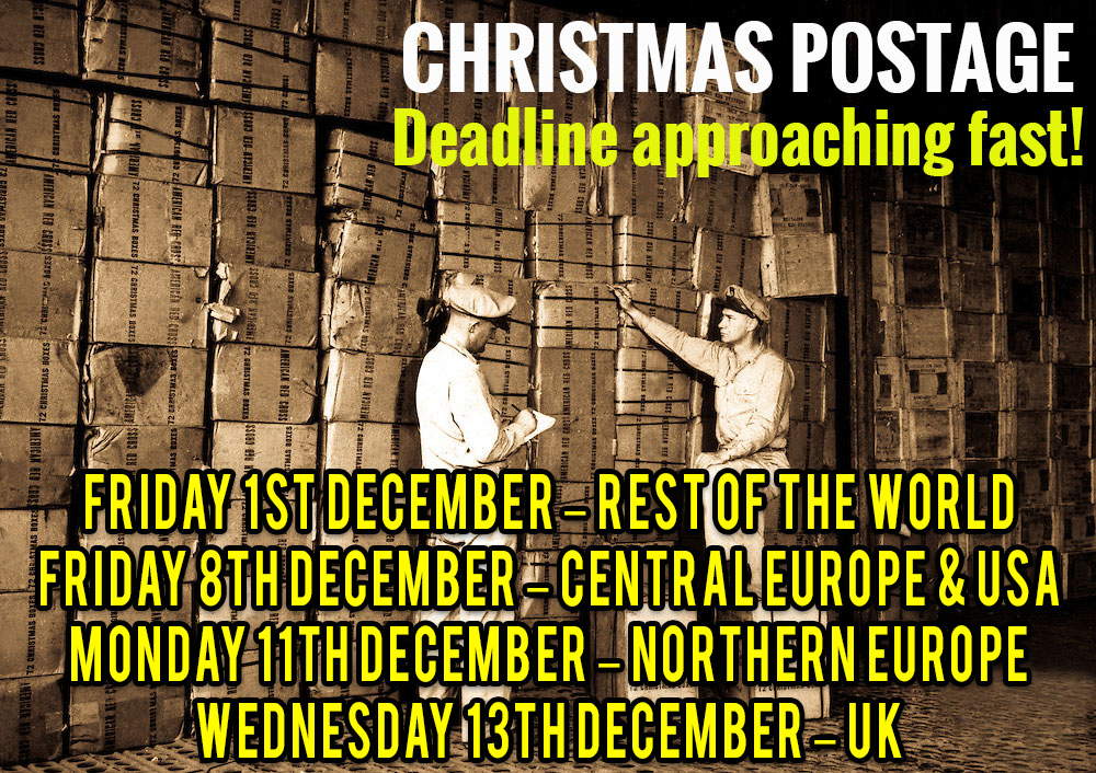 Christmas Deadlines 2017