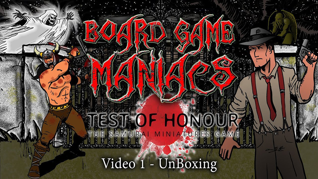 Test of Honour Board Game Maniacs Video Collection Article Banner